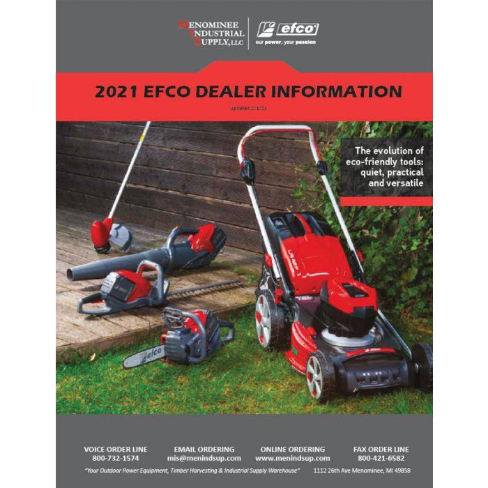 efco Dealer Information 2021